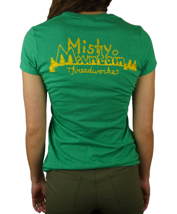 Misty Mountain Original Logo T-Shirt - Back