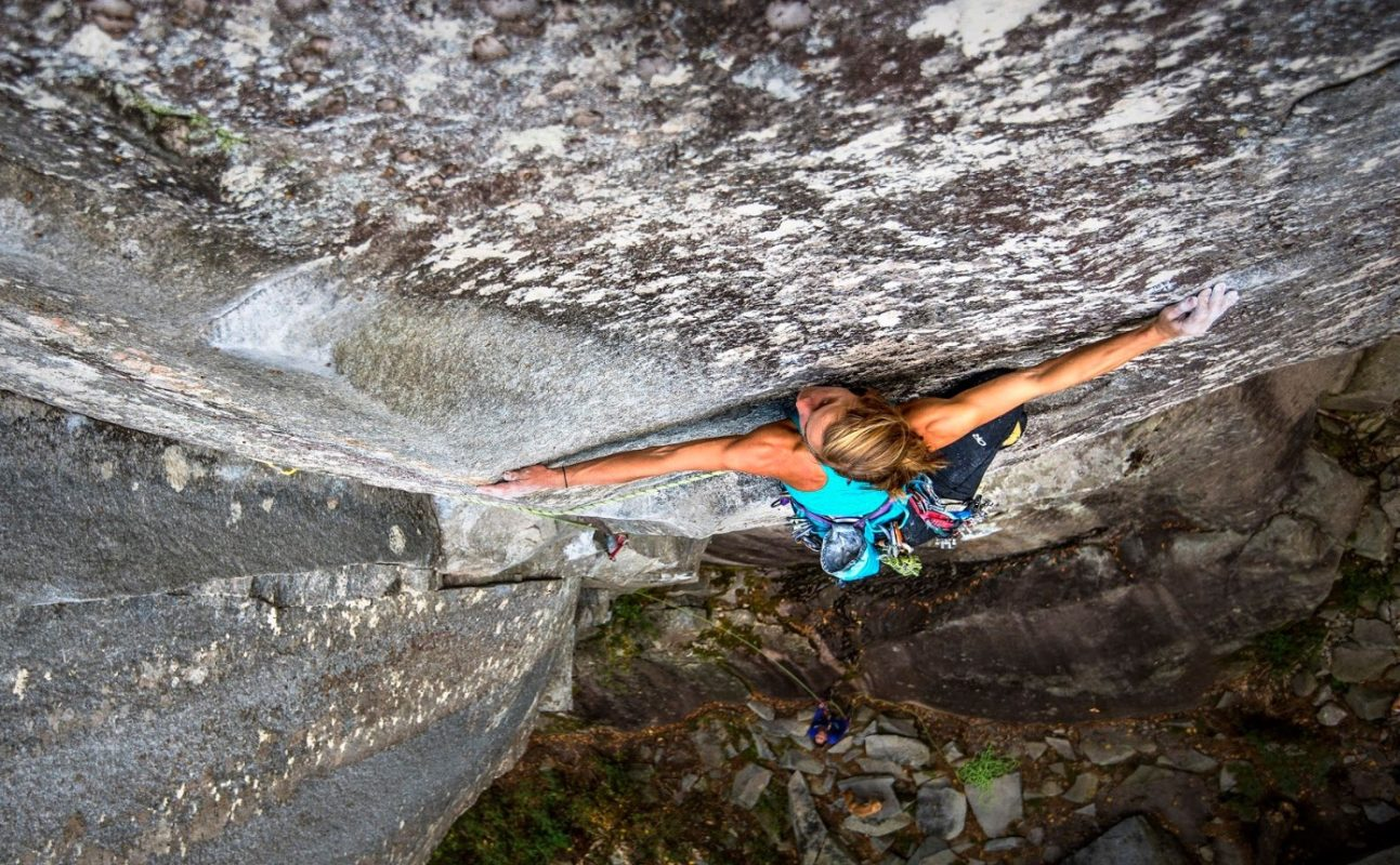 Jenny Abegg Looking Glass Rock Cornflake Crack 5.11a